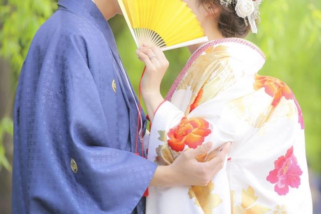 衣装付和装婚礼前撮り